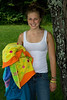Carly at Camp Chateaugay, July 2008 :